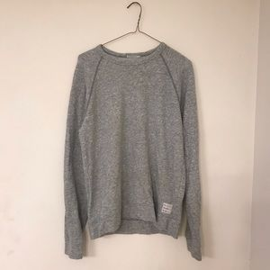 Comfy Terry Cloth Lucky Brand Pullover Sweatshirt